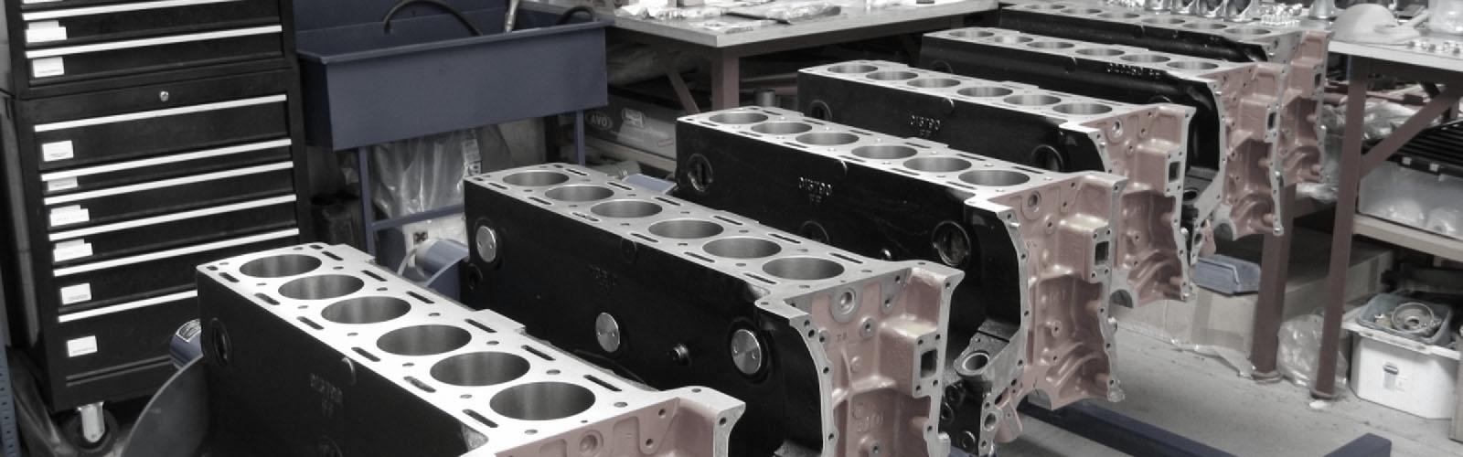 Jaguar 3.75 Liter Cylinder Block