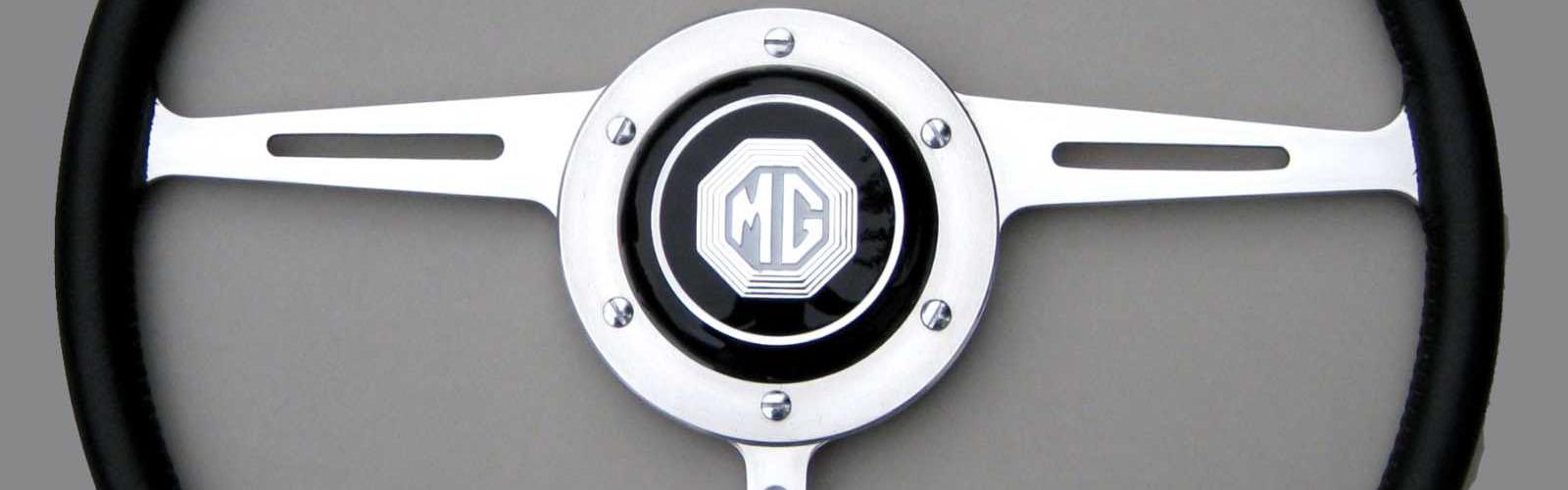 MGA 1500, 1600, 1622, Twin Cam Steering Wheel