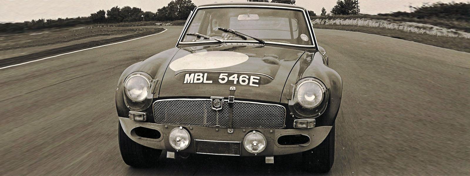 MG GTS Sebring Mabel MBL546E